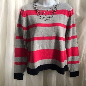 Liz Claiborne 100% cotton sweater size medium